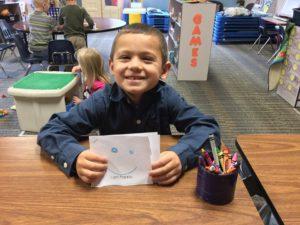 happy preschooler at Memories & Milestones Academy