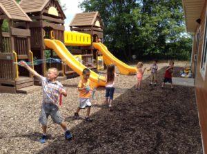 playground at Memories & Milestones Academy