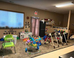 infant area at Memories & Milestones Academy