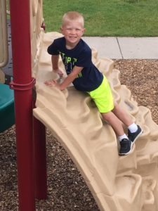 Outdoor play ay Memories & Milestones Academy