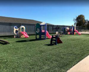 Memories & Milestones Academy outdoor play area