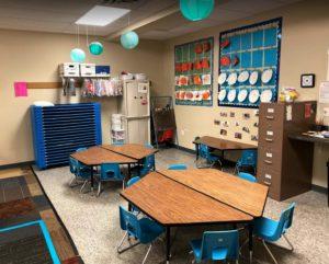 preschool classroom at Memories & Milestones Academy